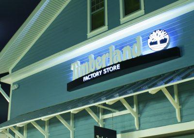 Timberland Sign