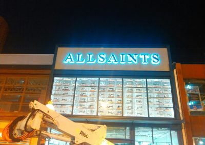 all saints sign