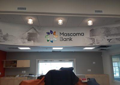 bank interior signs