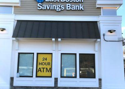 bank neon sign