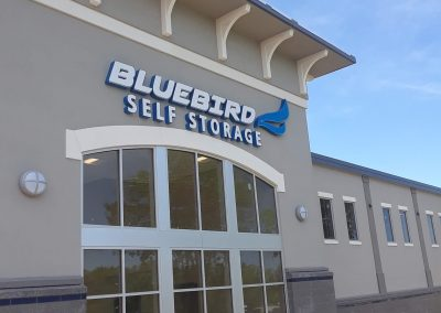 bluebird-self-storage-sign