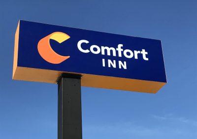 comfort inn signs