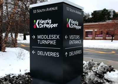 corporate wayfinding signs