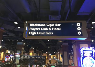 interior casino wayfinding