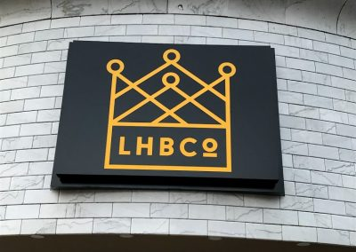 lhb co restaurant signs
