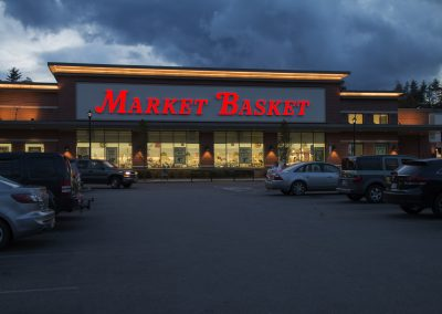 market basket sign