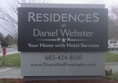 monument signs for assisted living facilities