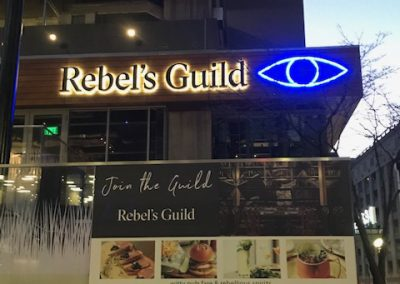 neon signs for restaurant