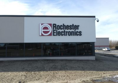 rochester electronics sign