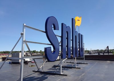 snhu exterior letters