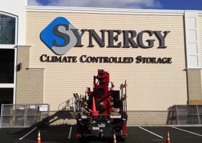 synergy wall sign