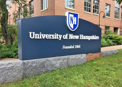 unh monument sign