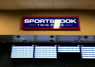 casino sportsbook signs