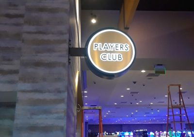 casino wayfinding signs